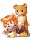 bear brown_eyes clothing cub duo edmol female forced male mammal rape shirt simple_background teddy_bear transformation white_background young  Rating: Explicit Score: 7 User: Flerg Date: June 01, 2012