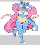2009 clothing featherscale female looking_at_viewer nidoqueen nintendo pokémon pokémon_(species) red_eyes robe slightly_chubby solo video_games