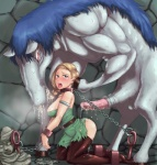 animal_genitalia bestiality bianca_(dragon_quest) bound butt chain cuffs dragon_quest dragon_quest_v duo equine female feral forced horse horsecock huge_penis human human_on_feral interspecies jyami kon_the_knight male mammal misonou_hirokichi monster open_mouth penis rape tongue unknown_artist   Rating: Explicit  Score: 8  User: xBIGx  Date: September 05, 2011