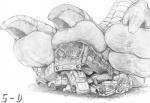 5-d bus car claws crush death destroyed dinosaur dragon giant helpless hindpaw human monochrome paws reptile scales scalie size_difference talons toes vehicle   Rating: Questionable  Score: 5  User: dragonrump  Date: March 15, 2013