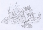 black_and_white cutie_mark dragon duo equine eyes_closed female feral friendship_is_magic hair horn lolover long_hair male mammal monochrome my_little_pony open_mouth scalie sketch spike_(mlp) twilight_sparkle_(mlp) unicorn   Rating: Safe  Score: 5  User: jojo400  Date: April 24, 2012