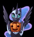 alpha_channel blue_eyes blue_hair equine female feral friendship_is_magic fur grasspainter hair helmet horn horse jack_o'_lantern long_hair looking_at_viewer mammal my_little_pony nightmare_moon_(mlp) plain_background pony pumpkin smile solo transparent_background winged_unicorn wings   Rating: Safe  Score: 17  User: Deatron  Date: October 28, 2013