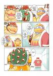 avian bird blush bowser chubby clothing coffee comic crush duo earthbound_(series) english_text garousuki gloves hat japanese_text king_dedede kirby_(series) koopa lovesick mario_bros ness nintendo penguin reptile robe scalie text tortoise translated turtle video_games waistband   Rating: Safe  Score: 3  User: Zest  Date: April 17, 2015