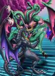 anthro bahamut biceps butt claws cunnilingus detailed_background digitigrade dragon duo english_text female final_fantasy final_fantasy_ix hi_res horn hydra male male/female multi_head muscular muscular_female nude open_mouth oral pussy reptile rollwulf scalie sex signature spread_legs spreading stairs text tiamat toe_claws tongue vaginal video_games western_dragon wings  Rating: Explicit Score: 15 User: voldosbt Date: September 20, 2015