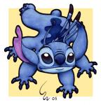 2005 4_arms 4_fingers alien antennae back_markings back_spines blue_claws blue_eyes blue_fur blue_nose border claws colored_pencil_(artwork) disney experiment_(species) fur head_tuft lilo_and_stitch looking_at_viewer marker_(artwork) markings mixed_media multi_arm multi_limb no_sclera nose_wrinkle notched_ear philtrum ribera signature simple_background small_tail smile solo stitch toe_claws traditional_media_(artwork) tuft white_border yellow_backgroundRating: SafeScore: 1User: BooruHitomiDate: August 20, 2017