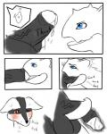anthro blush canine clothing comic deep_throat domination english_text erection female female_domination hi_res horn internal larger_female licking lucario male mammal nidoqueen nintendo nukenugget open_mouth oral penis pokémon red_eyes size_difference text tongue tongue_out video_games  Rating: Explicit Score: 17 User: nukenugget Date: April 10, 2016