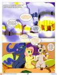 2015 comic dialogue english_text equine female feral fluttershy_(mlp) friendship_is_magic horn mammal my_little_pony pegasus princess_luna_(mlp) saurian_(artist) text winged_unicorn wings zebra zecora_(mlp)   Rating: Safe  Score: 6  User: Robinebra  Date: March 13, 2015