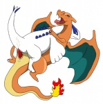 blue_eyes blush charizard cum dragon duo fire frottage lugia male male/male nintendo penis plain_background plesiosaur pokémon precum scalie sex sfbwd video_games  Rating: Explicit Score: 2 User: Zest Date: April 10, 2015""