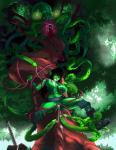 big_breasts black_hair breasts cephalopod cum cum_in_mouth cum_in_pussy cum_inside female forest goblin green_skin hair humanoid mammal marine nude octopus open_mouth pussy tentacle_moster tentaclemonsterchu tentacles tree  Rating: Explicit Score: 5 User: KuramaFox Date: August 17, 2015