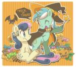 amber_eyes bat blue_eyes bonbon_(mlp) candy cape cutie_mark english_text equine female feral friendship_is_magic frown fur green_fur hair hat horn horse jack_o'_lantern lollipop long_hair lyra_heartstrings_(mlp) mammal my_little_pony one_eye_closed open_mouth pony pumpkin sitting smile text tongue two_tone_hair unicorn unknown_artist wand wings wink yellow_eyes   Rating: Safe  Score: 9  User: Deatron  Date: October 26, 2013