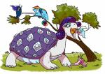 2016 absurd_res adlynh ambiguous_gender chameleon eating feral friendship_is_magic gastropod grass group hair hi_res horn lizard multicolored_hair my_little_pony open_mouth princess_cadance_(mlp) princess_celestia_(mlp) princess_luna_(mlp) rainbow_dash_(mlp) rarity_(mlp) reptile scalie scared simple_background slug snail tongue tongue_out tree turtle vore white_background  Rating: Safe Score: 5 User: ConsciousDonkey Date: March 22, 2016