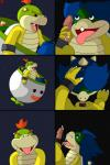 balls bowser_jr. cock_ring cub cum cum_in_mouth cum_inside cum_on_face cum_string fellatio gipbandit handjob hi_res koopa koopaling ludwig_von_koopa male male/male mario_bros nintendo oral penis scalie sex video_games young   Rating: Explicit  Score: -4  User: GipBandit  Date: February 18, 2015