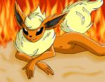 ambiguous_gender anthro eeveelution flareon fur hair long_hair mammal nintendo nude pokémon smile solo video_games   Rating: Questionable  Score: 0  User: furry_and_yiff  Date: February 20, 2015
