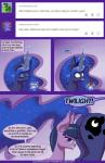 2015 butt comic cutie_mark deusexequus dialogue duo english_text equine eyes_closed female female/female feral friendship_is_magic glowing hair horn horn_sex horse looking_at_viewer magic mammal my_little_pony pony princess_luna_(mlp) purple_eyes purple_hair smile suggestive surprise text twilight_sparkle_(mlp) winged_unicorn wings   Rating: Explicit  Score: 9  User: Egekilde  Date: April 14, 2015