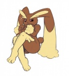 anthro big_breasts blush breasts chubby covering female lagomorph lopunny mammal nintendo pokémon pokémorph rabbit redintravenous solo video_games   Rating: Questionable  Score: 3  User: Robinebra  Date: June 22, 2013