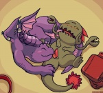 aliasing awesomenauts blush dragon duo erection eyes_closed female flora_fauna gnaw_(awesomenauts) high-angle_shot horn lalzimsooodrunkrightnow licking lying male male/female nibbs nude on_back open_mouth oral penis penis_lick plant scalie semi-anthro sex signature spread_legs spreading tapering_penis tongue tongue_out video_games  Rating: Explicit Score: 2 User: Circeus Date: November 11, 2015