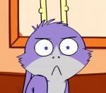 :< ambiguous_gender angry anthro antlers bedfellows blue_eyes cropped edit fatigue horn jackalope lagomorph looking_at_viewer mammal reaction_image shenanigans solo ಠ_ಠRating: SafeScore: 51User: king-kazeDate: September 16, 2012