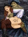 anthro breast_grab breasts davy_jones disney duo elizabeth_swann female human human_on_anthro interspecies looking_at_viewer male male/female mammal mollusk mollusk_penis nipples penetration penis pirate pirates_of_the_caribbean pussy sex sinful_comics tentacles vaginal vaginal_penetration what_has_science_done  Rating: Explicit Score: 1 User: JennaLovesKate Date: October 30, 2013