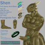 2015 4_toes abs anthro archshen argonian balls biceps big_muscles blue_eyes brown_scales claws cock_ring crossed_arms english_text erection grey_background hindpaw horn humanoid_penis male model_sheet muscular nude paws pecs penis runes scales scalie simple_background smile soles solo spikes standing text the_elder_scrolls toe_claws toes uncut vein video_games  Rating: Explicit Score: 14 User: fan_ippiki_ookami Date: October 05, 2015