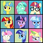 2015 absurd_res cheezedoodle96 derp_eyes derpy_hooves_(mlp) equestria_girls equine female feral friendship_is_magic glowstick group hi_res horn lemon_hearts_(mlp) lyra_heartstrings_(mlp) mammal minuette_(mlp) moondancer_(mlp) my_little_pony sunset_shimmer_(eg) tongue tongue_out trixie_(mlp) twilight_sparkle_(mlp) twinkleshine_(mlp) unicorn  Rating: Safe Score: 6 User: 2DUK Date: October 18, 2015