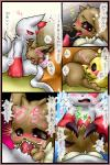 ambiguous_gender anal blush box_xod comic cum cum_in_mouth cum_inside cute eevee fellatio fingering gay japanese_text male nintendo oral oral_sex pikachu pokémon saliva sex text translated video_games zangoose   Rating: Explicit  Score: 6  User: slyroon  Date: March 09, 2014