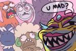 2016 bruxish derp_eyes hi_res klefki master-rainbow meme meowstic nintendo open_mouth pink_background pokémon sableye sharp_teeth simple_background talonflame teeth trollface video_games whimsicottRating: SafeScore: -16User: Rad_DudesmanDate: July 03, 2016