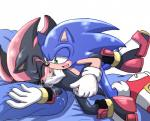 anal anal_penetration angelofhapiness blush clothing cum duo footwear gloves handjob male male/male open_mouth penetration shadow_the_hedgehog shoes sonic_(series) sonic_the_hedgehog  Rating: Explicit Score: 0 User: Untamed Date: August 13, 2015