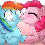 2015 <3 behind-space blush cute duo earth_pony equine female female/female feral friendship_is_magic horse kissing mammal my_little_pony pegasus pinkie_pie_(mlp) pony rainbow_dash_(mlp) smile wings  Rating: Safe Score: 4 User: Robinebra Date: July 29, 2015