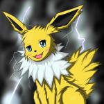 all_fours ambiguous_gender black_nose blush canine chest_tuft cute cyan_eyes eeveelution feral fur jolteon lightning mammal nintendo open_mouth pokémon sitting solo storm teeth tuft unknown_artist video_games white_fur yellow_fur   Rating: Safe  Score: 2  User: Hydr0  Date: February 15, 2015