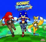 anthro blue_eyes blue_fur blush bulge canine clothed clothing cutoffs denim_shorts echidna fingerless_gloves fox front_view fur girly gloves green_eyes grin group hedgehog jeans knuckles_the_echidna leg_band logo male mammal miles_prower monotreme multiple_tails panties pants purple_eyes red_fur running sega shirt shoes short_shirt shorts smile sneakers sonic_(series) sonic_runners sonic_the_hedgehog sonicharinezumi tank_top tools torn_clothing underwear wide_hips wrench yellow_fur   Rating: Questionable  Score: 3  User: WhiteWhiskey  Date: March 18, 2015