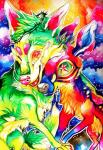 canine cervine clara_(artist) deer falvie_(character) fionbri fruize fur green_fur psychedelic warm_colors   Rating: Safe  Score: 1  User: slyroon  Date: January 07, 2014