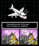 2015 blush comic computer dialogue digimon embarrassed english_text gaming horny humor lalzimsooodrunkrightnow living_aircraft living_machine machine playing_videogame pun sparrowmon speech_bubble text tsunderplane undertale video_games what  Rating: Questionable Score: 27 User: Circeus Date: October 18, 2015