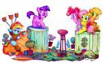 2015 applejack_(mlp) blue_fur costume earth_pony equine female fluttershy_(mlp) friendship_is_magic fur group hair hat horn horse jowybean lego mammal multicolored_hair my_little_pony pegasus pinkie_pie_(mlp) playing plushie pony purple_hair rainbow_dash_(mlp) rainbow_hair spike_(mlp) toy twilight_sparkle_(mlp) two_tone_hair umbrella unicorn wings  Rating: Safe Score: 9 User: 2DUK Date: October 02, 2015