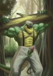 abs alligator alpha0 anthro balls biceps big_penis blush clothed clothing erection eyes_closed forest green_skin half-dressed hat humanoid_penis lifting log male muscles nature out_of_fly outside pants pecs penis penis_through_fly poking_out presenting reptile scales scalie solo suspenders toned topless tree wardrobe_malfunction wood   Rating: Explicit  Score: 11  User: unforget  Date: November 17, 2012