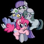 2015 alpha_channel anibaruthecat earth_pony equine female feral friendship_is_magic group horse limestone_pie_(mlp) mammal marble_pie_(mlp) maud_pie_(mlp) my_little_pony pinkie_pie_(mlp) pony  Rating: Safe Score: 6 User: Robinebra Date: November 28, 2015