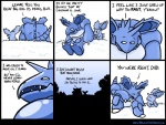 brawlinthefamily comic dialogue duo english_text father father_and_son horn humor male nidoking nidoran nintendo outside parent pokémon simple_background size_difference son text video_games  Rating: Safe Score: 15 User: Rad_Dudesman Date: January 02, 2016