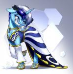 2015 big_smile blue_eyes blue_hair clothing colgate_(mlp) dress equine female friendship_is_magic gold hair horn mammal my_little_pony mykegreywolf necklace smile solo two_tone_hair unicorn white_hair   Rating: Safe  Score: 1  User: 2DUK  Date: April 28, 2015
