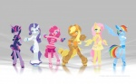 2011 anthro anthrofied applejack_(mlp) blue_body blue_eyes chaps clothing cowboy_hat dress earth_pony equine female fluttershy_(mlp) footwear friendship_is_magic fur green_eyes group hair hat horn horse mammal my_little_pony pegasus pink_body pink_fur pink_hair pinkie_pie_(mlp) pony purple_eyes purple_fur purple_hair rainbow_dash_(mlp) rarity_(mlp) shoes shorts sweater twilight_sparkle_(mlp) tysontan unicorn wings young  Rating: Safe Score: 21 User: Ohnine Date: July 22, 2011