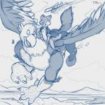 2014 aircraft airplane anthro avian beak bird canine clothing door duo eagle engine equine flight flying hippogryph hoodie hooves horse jet landscape male mammal pheagle philadelphia_eagles riding talons teaselbone transformation wings wolf   Rating: Safe  Score: 2  User: PheagleAdler  Date: December 12, 2014