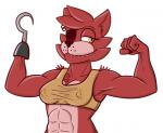 crossgender female five_nights_at_freddy's flexing foxy_(fnaf) muscles nipples snaxattacks solo video_games  Rating: Questionable Score: 6 User: Snax Date: July 18, 2015