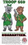 advertisement ambrosia bear cub duo english_text female flat_chested gun handgun humor james_m_hardiman mammal parody penance plain_background ranged_weapon smile succubus text weapon white_background young   Rating: Safe  Score: 3  User: Skunkworks  Date: April 09, 2014