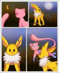 aoi_(wuppy245) bracelet canine eeveelution erebus fakémon fan_character feet feral fur hybrid hypno hypnosis jewelry jolteon legendary_pokémon licking male mammal mew mind_control nintendo paws pokémon sweetlemondragon tongue tongue_out video_games wounded