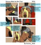 all_fours anal anal_penetration balls canine colonel_klink comic digital_media_(artwork) duo equine grinding hi_res horse male male/male mammal penetration penis sex text wolf  Rating: Explicit Score: 1 User: Colonel__Klink Date: February 03, 2016