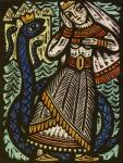 albina_makūnaitė ambiguous_gender clothed clothing crown duo female feral group human lithuanian_mythology mammal mythology reptile scalie snake traditional_media_(artwork)   Rating: Safe  Score: 3  User: Genjar  Date: April 14, 2015