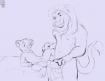 2015 age_difference anthro anthrofied anus barefoot bed compfive cub digital_drawing_(artwork) digital_media_(artwork) disney duo erection father father_and_son feline grin holding_penis humanoid_penis imminent_sex incest line_art lion looking_at_penis looking_down lying male male/male mammal monochrome mufasa naughty_face navel nipples nude on_back on_bed parent penis plantigrade scared signature simba size_difference sketch son spread_legs spreading standing the_lion_king whiskers young  Rating: Explicit Score: 16 User: Circeus Date: April 15, 2016