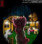 animated apple_bloom_(mlp) black_hair blue_hair bow brown_hair couple creepy cub dialogue equine female feral friendship_is_magic glowing glowing_eyes grey_body grey_hoof_(mlp) group hair horse male mammal mitta_(mlp) my_little_pony nightmare_fuel pink_hair pony red_hair roneo_(mlp) run_away slightly-stratus smile starlet_(mlp) story_of_the_blanks text the_truth undead village young zombie  Rating: Safe Score: 18 User: just_efra Date: August 17, 2011