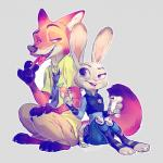 2016 anthro canine cs_yym disney female fox judy_hopps lagomorph male mammal nick_wilde rabbit zootopia  Rating: Safe Score: 1 User: Vallizo Date: May 06, 2016