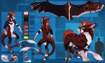 anthro black_fur dog-bone dragon eschiver-monty felkin fur furred_dragon hair heterochromia horn male penis piebald pink_fur pink_hair red_fur red_hair rosettes scalie skewbald solo stripes white_fur wings  Rating: Explicit Score: 10 User: Faunoiphilia Date: June 21, 2014