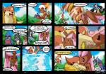 anthro behindtg big_ears blush canine comic croagunk dialogue english_text eyes_closed female fight floatzel infernape jackal kissing lagomorph lopunny lucario male mammal mustelid nintendo pokémon shiny_pokémon smile text video_games water webcomic   Rating: Safe  Score: 3  User: UNBERIEVABRE!  Date: January 30, 2014
