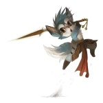 2012 action_pose ambiguous_gender anthro blue_fur canine fur mammal melee_weapon silverfox5213 solo sword unknown_species weapon  Rating: Safe Score: 10 User: TonyLemur Date: March 09, 2012